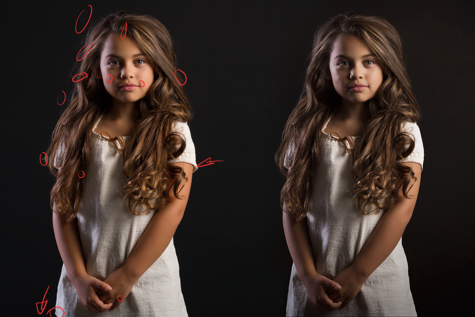 Model: Jaelyn | MUAH: Cindy van Summeren