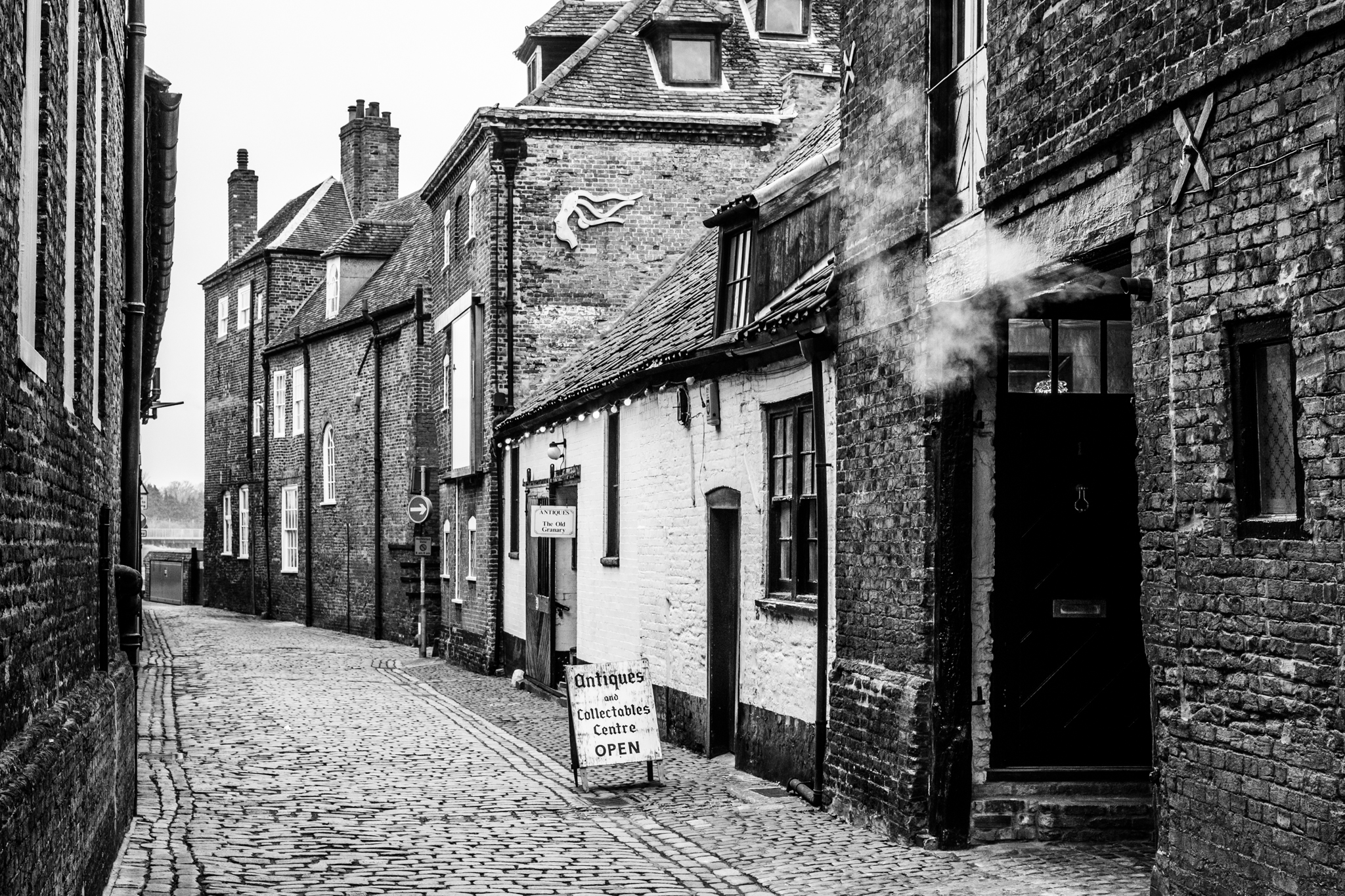 An old street in Kings Lynn
