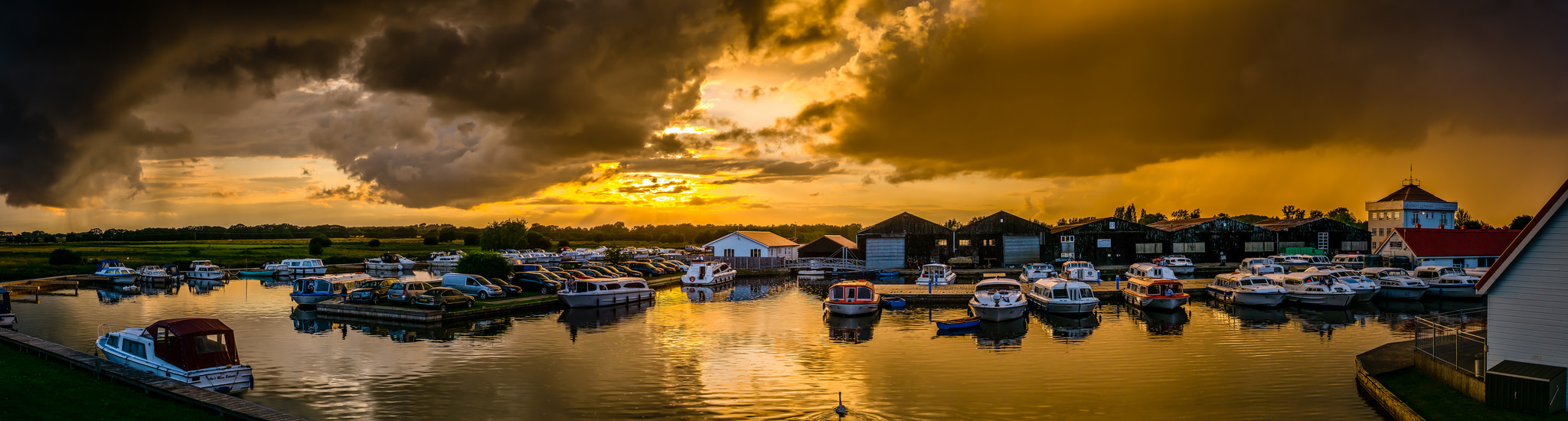 Potter Heigham on the Norfolk Broads