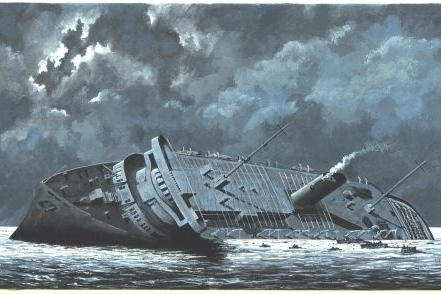 The Sinking of the  M.S. Wilhelm Gustloff  by Irwin J. Kappes