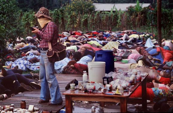 Photographer at the mass suicide in jonestown