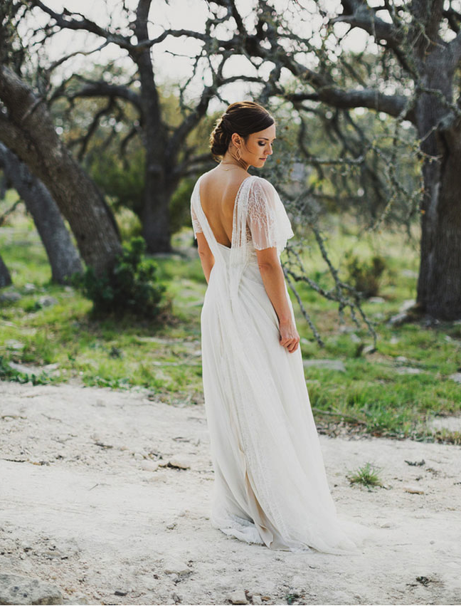 Swooning over this dress? Sam Walls Beasley is a New York based designer who brilliantly combines a traditional English style with classically feminine details, for her couture line,  Samuelle .