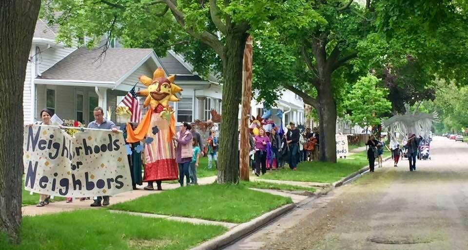 Neighborhood Puppet Parade