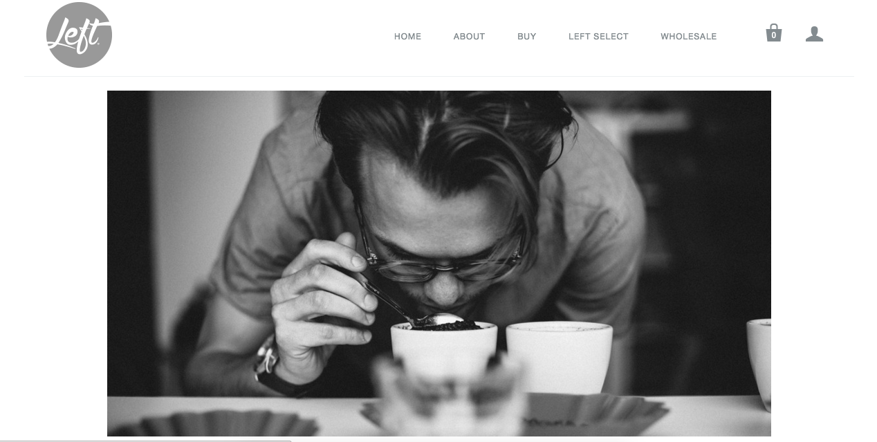 Website Content For Left Roasters