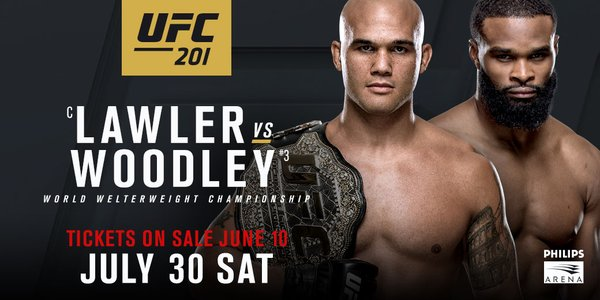 Watch UFC 201 in NYC