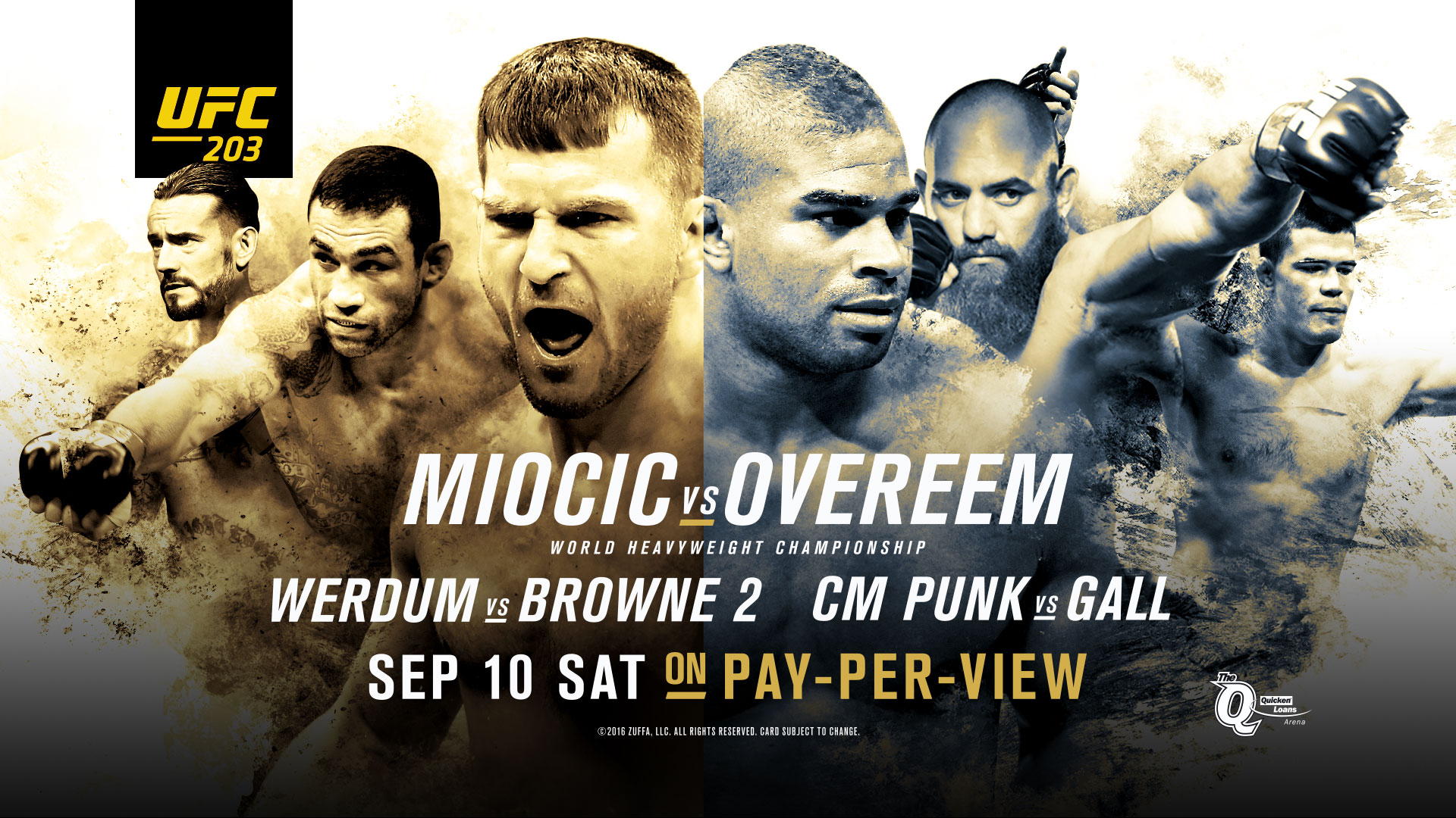 Watch UFC 203 in NYC