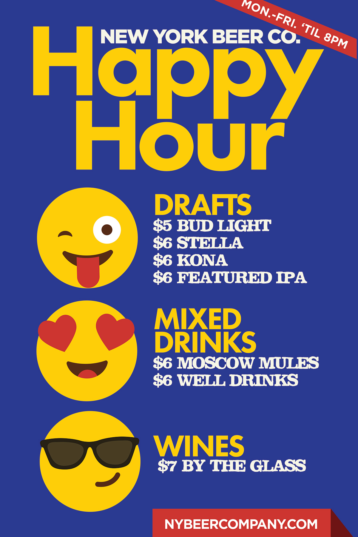 happy hour near broadway theaters