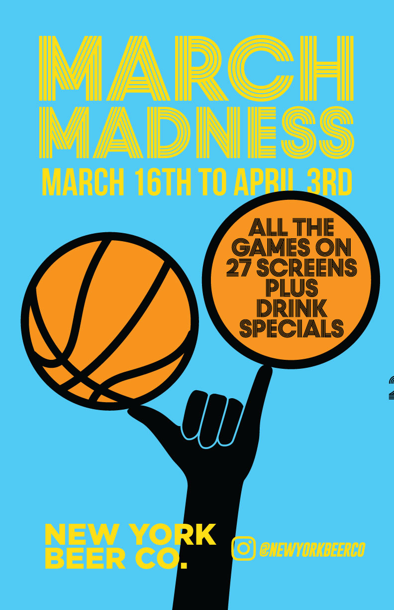 watch march madness nyc