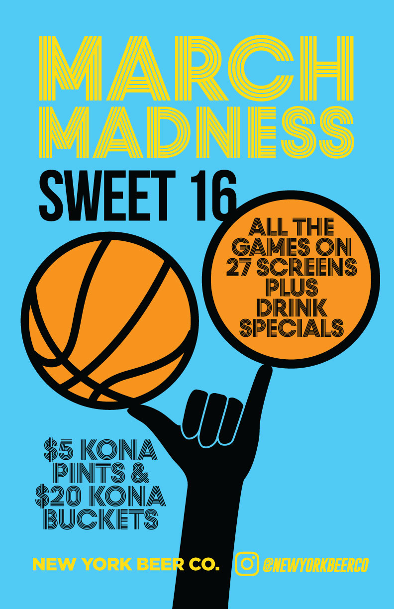 Watch March Madness in Midtown NYC