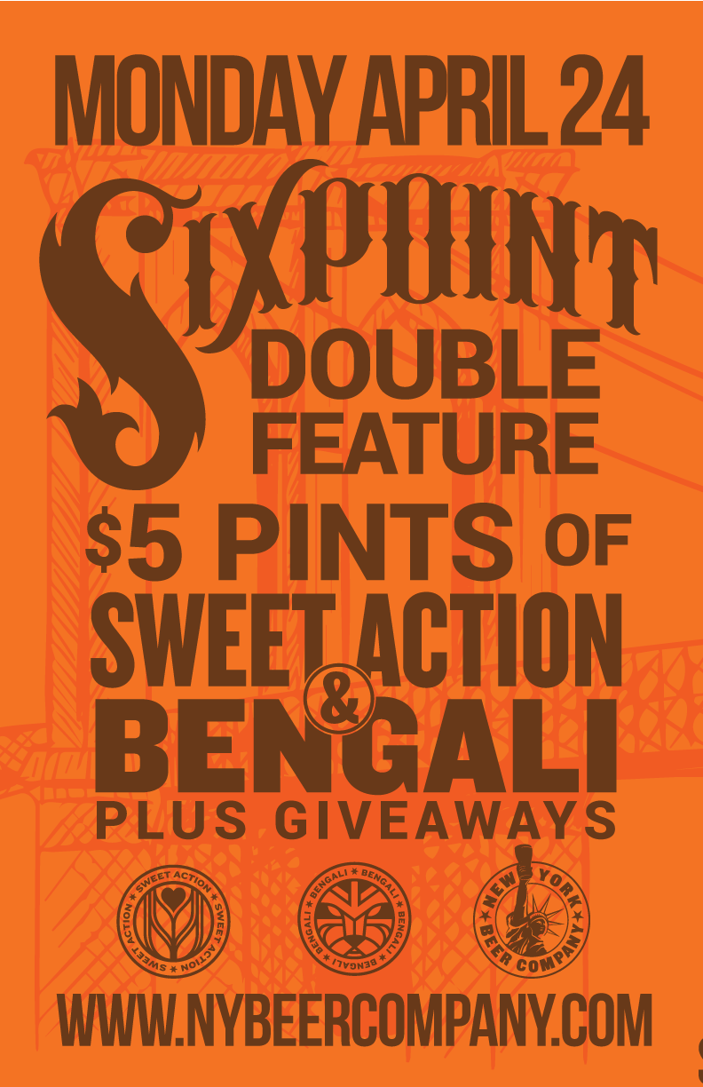Sixpoint brewery night