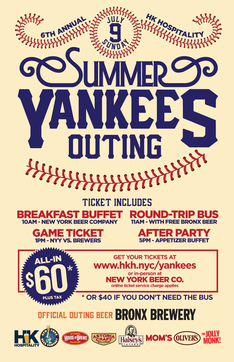 nyc yankees packages