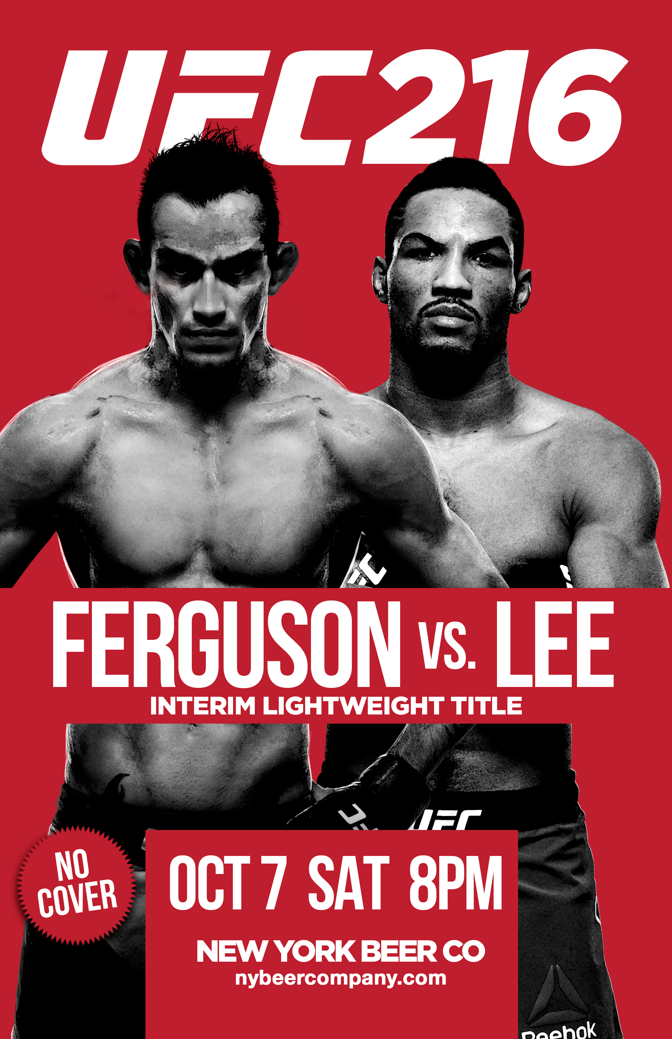 Watch UFC 216 free in NYC bars showing
