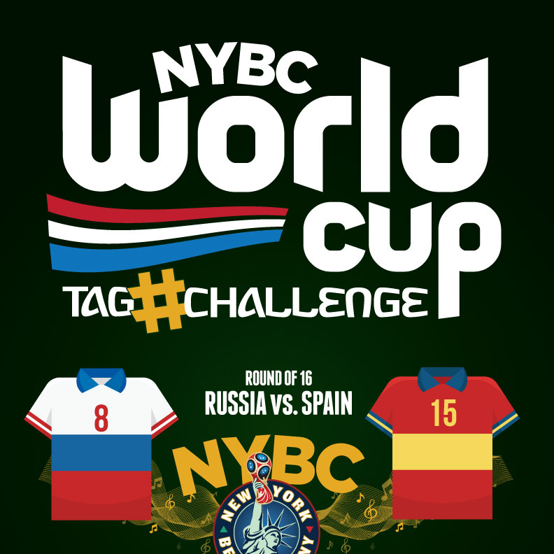 watch World Cup NYC - Russia vs. Spain - Round 16