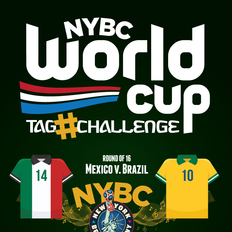 watch World Cup NYC - Mexico vs. Brazil - Round 16