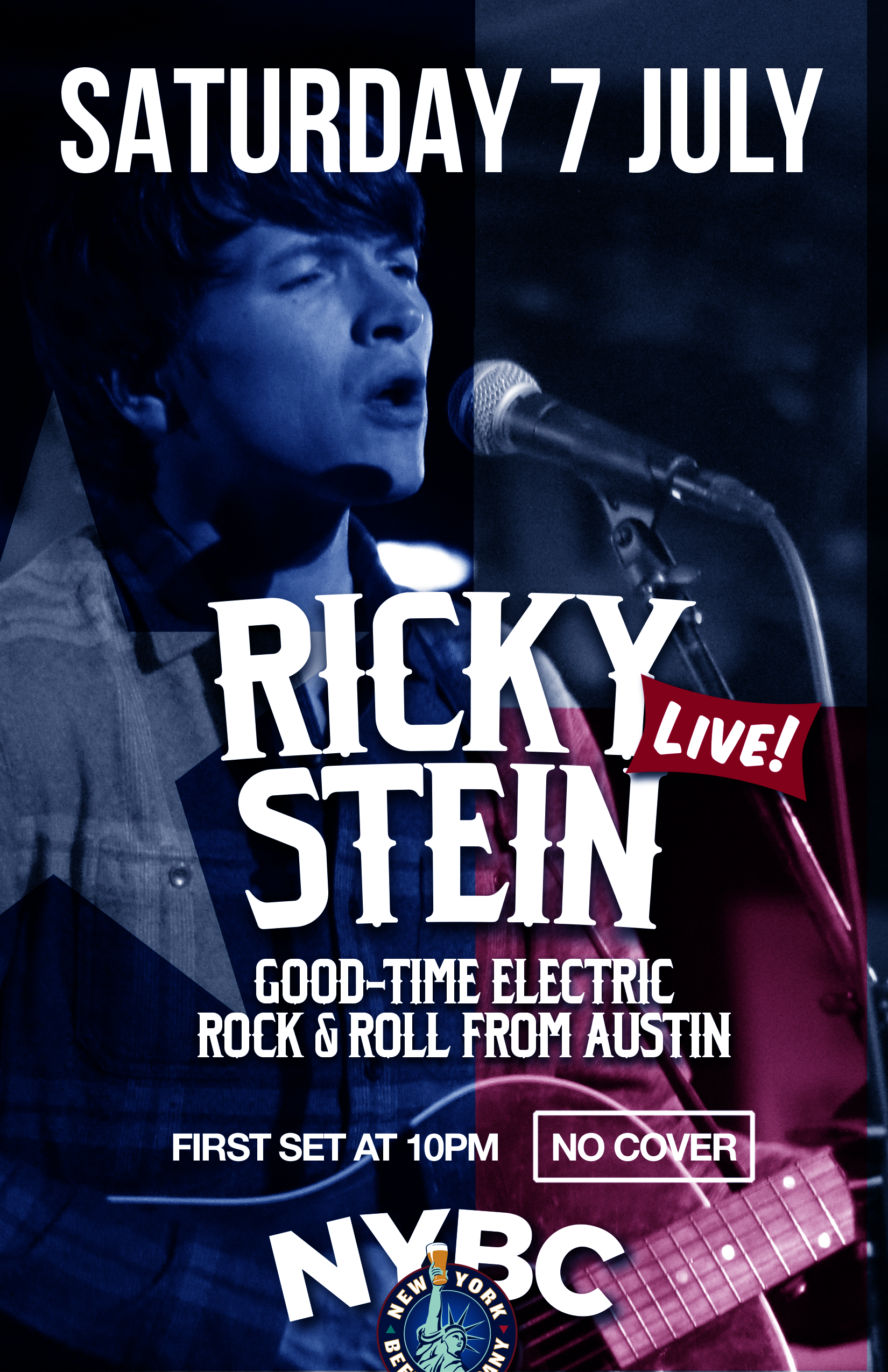 Ricky Stein performs live in NYC from Austin