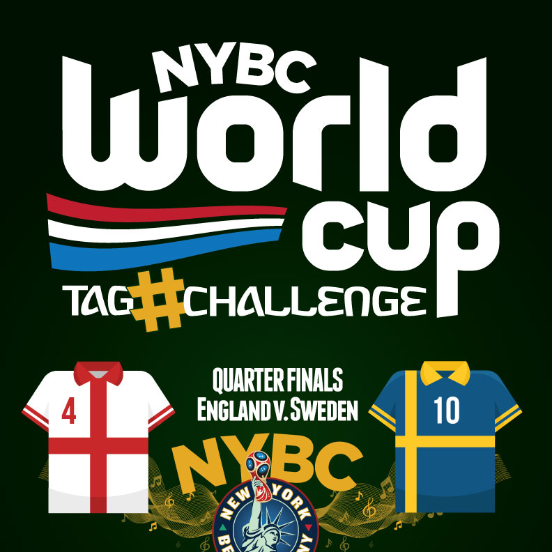 Watch World Cup NYC Quarter Finals ENG vs. SWE