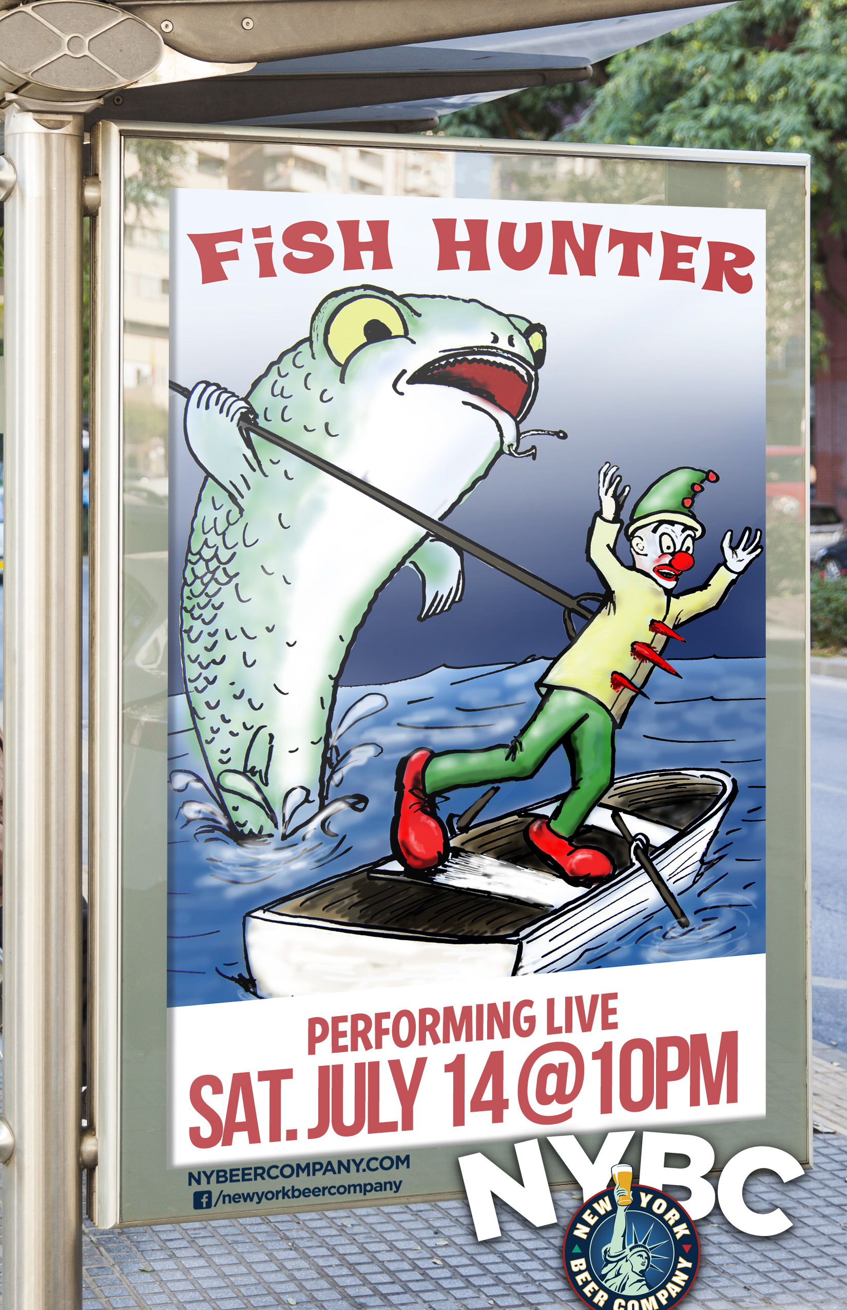 Fish Hunter band - Live MUSIC NYC