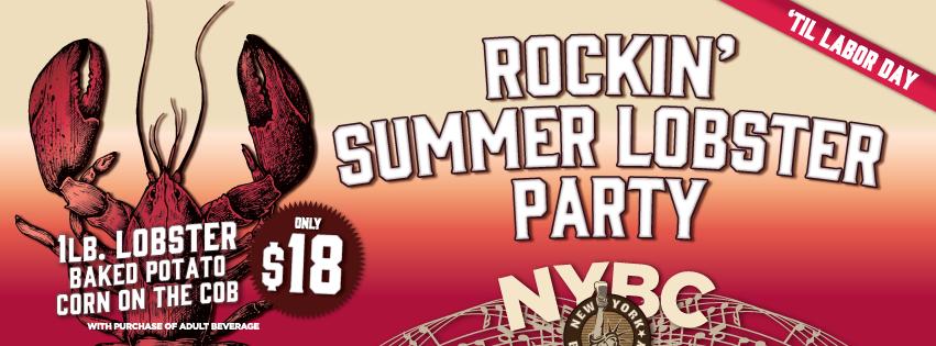 Rockin' Summer Lobster Party