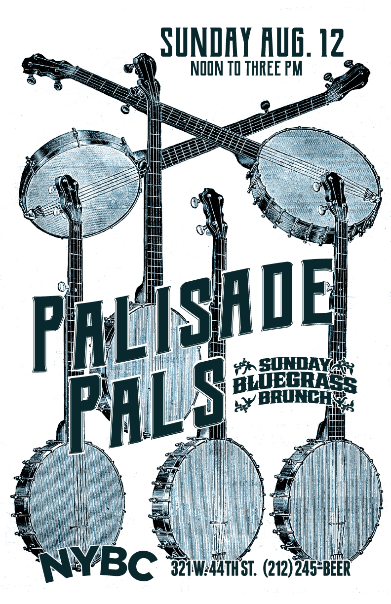 NYC Bluegrass Brunch with Palisade Pals