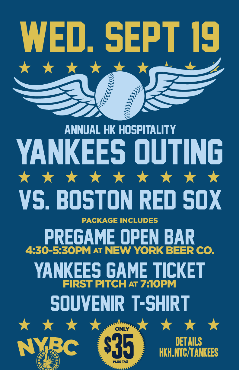yankees open bar against red sox