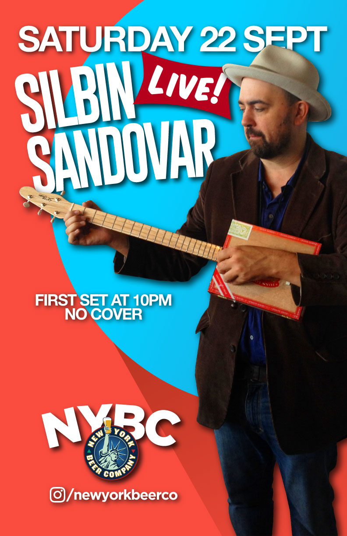 See Silbin Sandovar perform live NYC