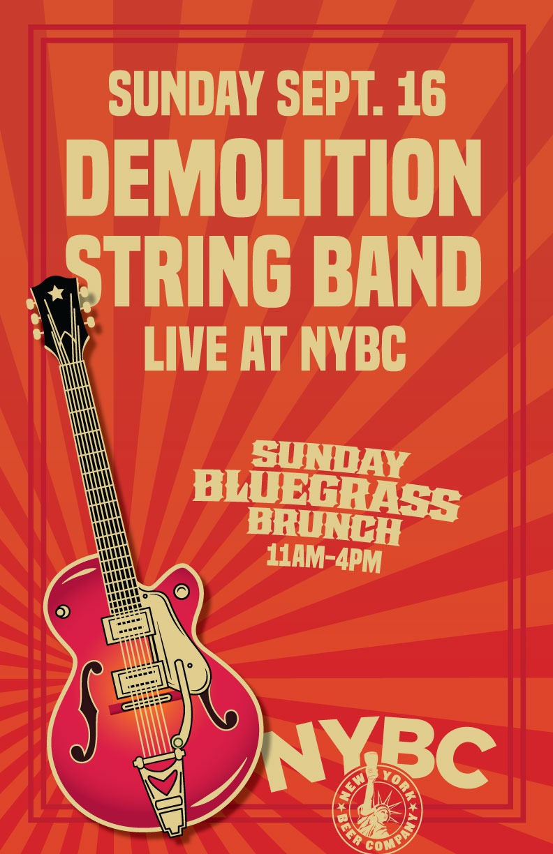 demolition string band nyc bluegrass brunch