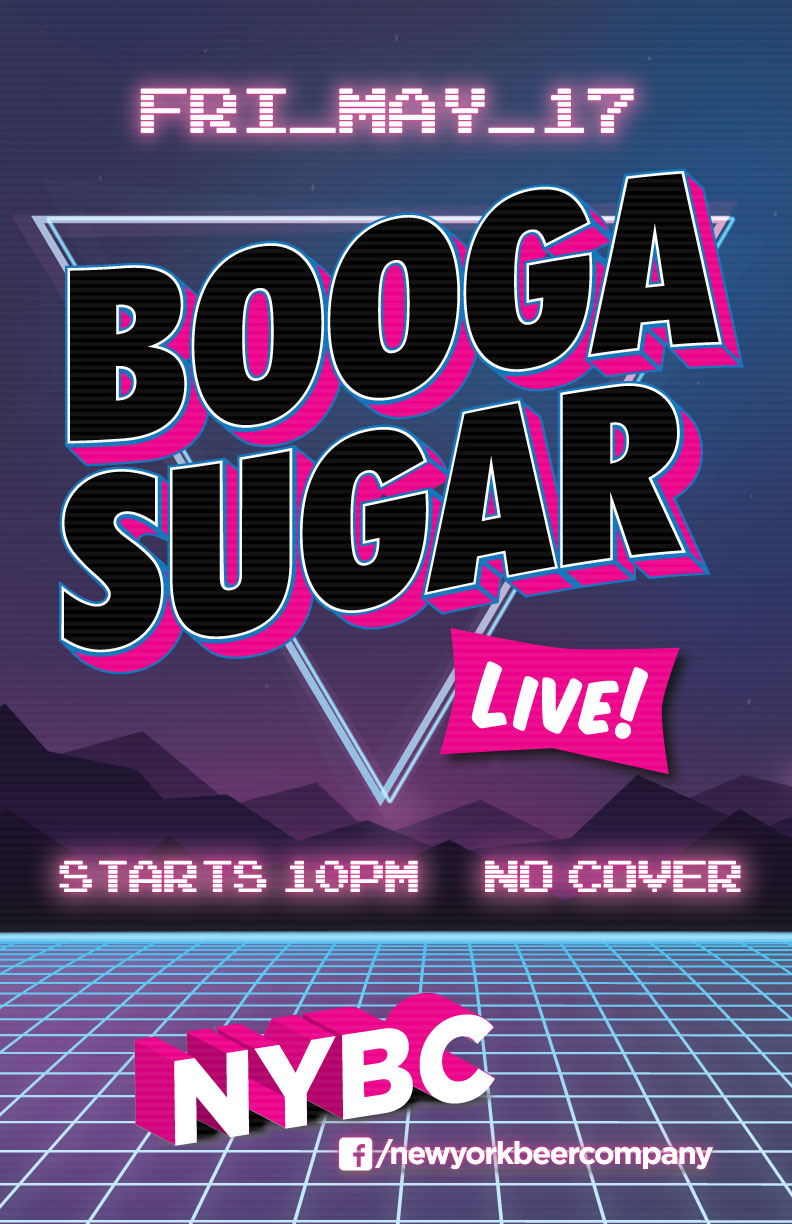 Booga Sugar party rock band Live in NYC