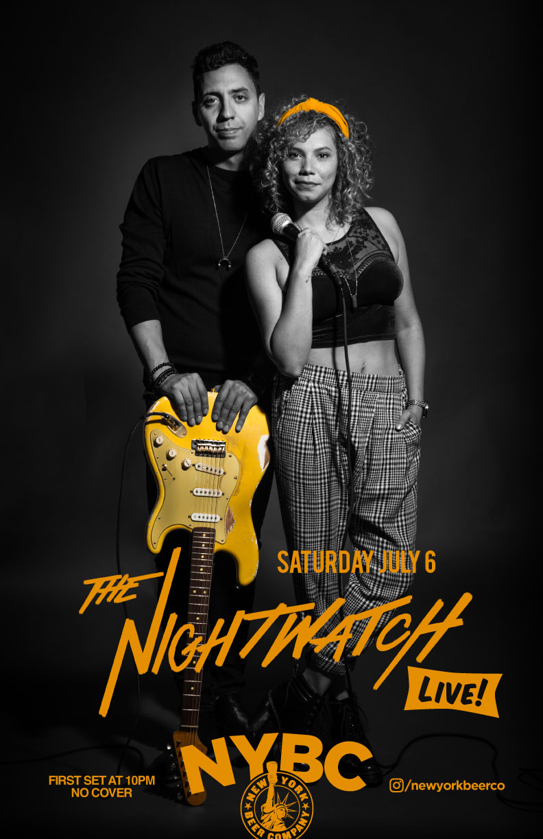 The Nightwatch band live NYC