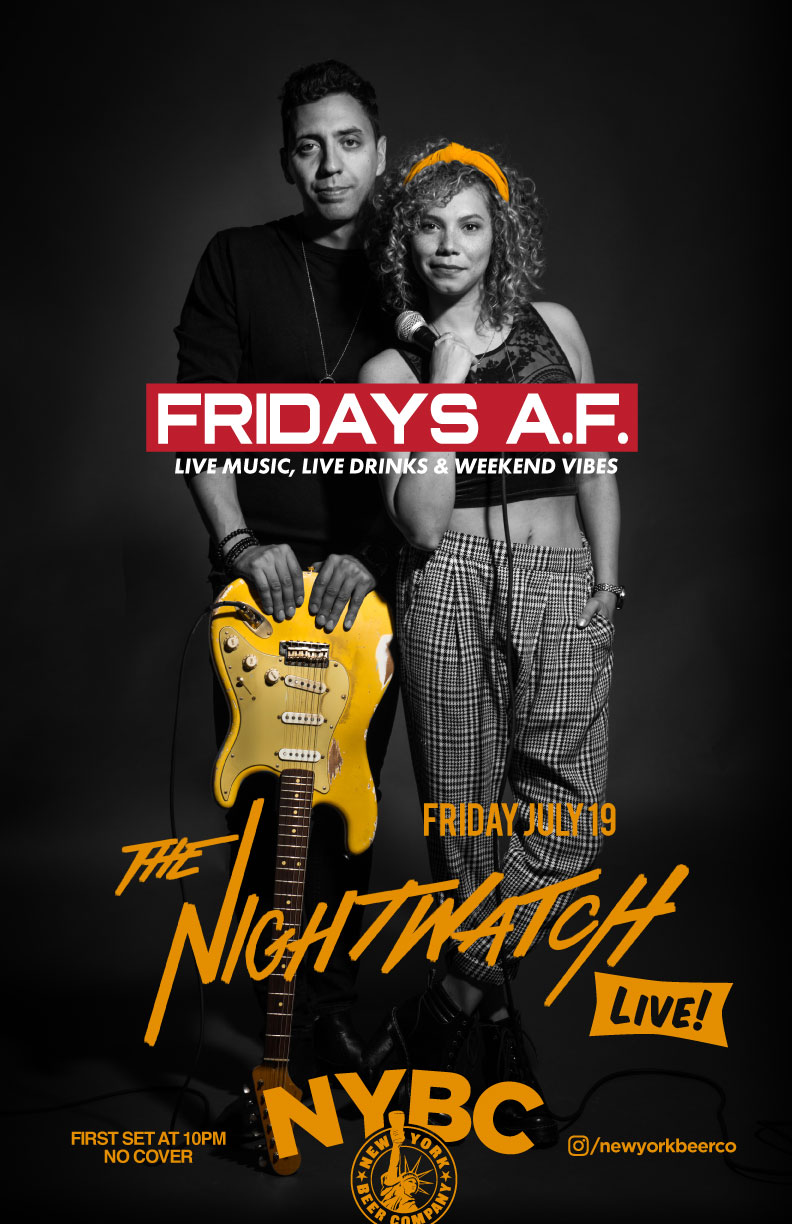 Fridays A.F. with Nightwatch live music nyc