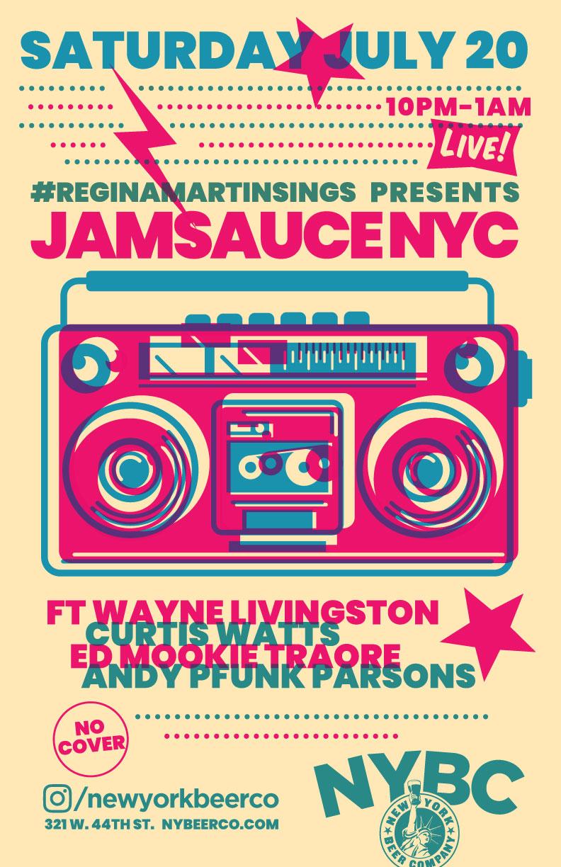 Regina Martin JAMSAUCE NYC