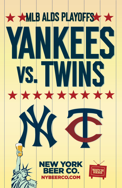 Watch Yankees Playoffs near me