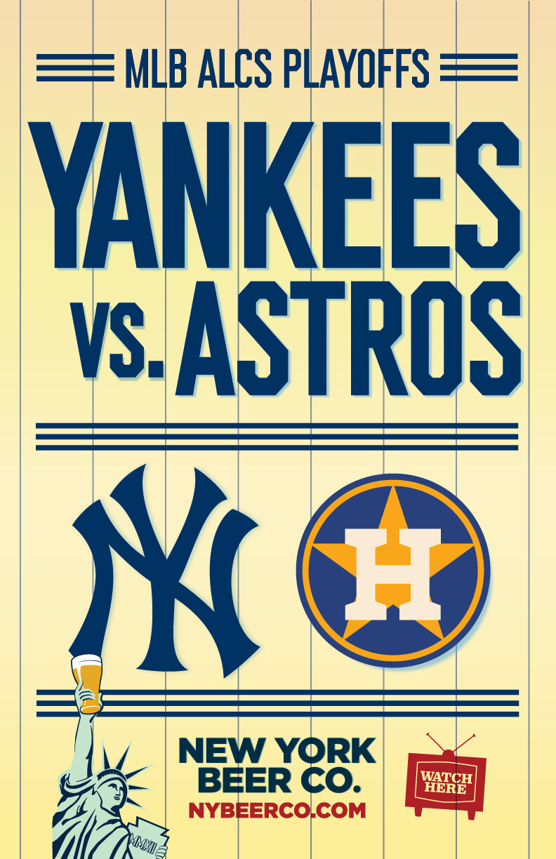 Watch Yankees Astros Playoffs near me in NYC
