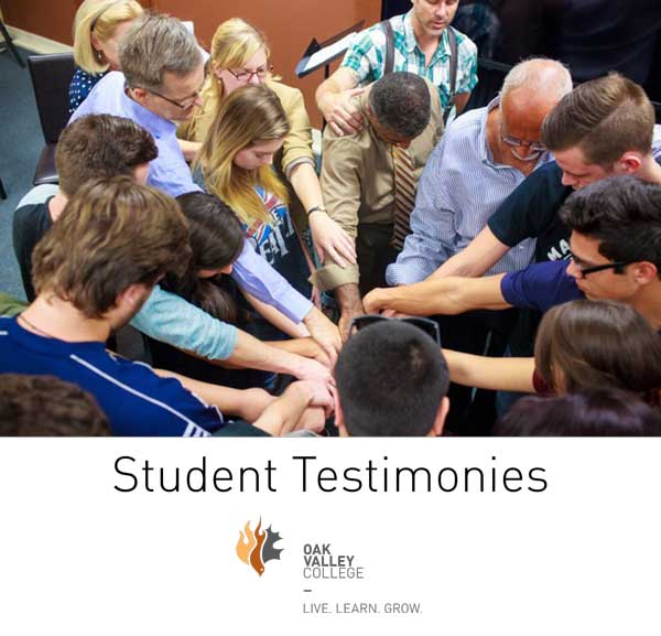 Hear what Oak Valley College  students say about their experience.
