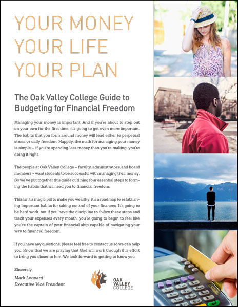 Download our Guide to Budgeting