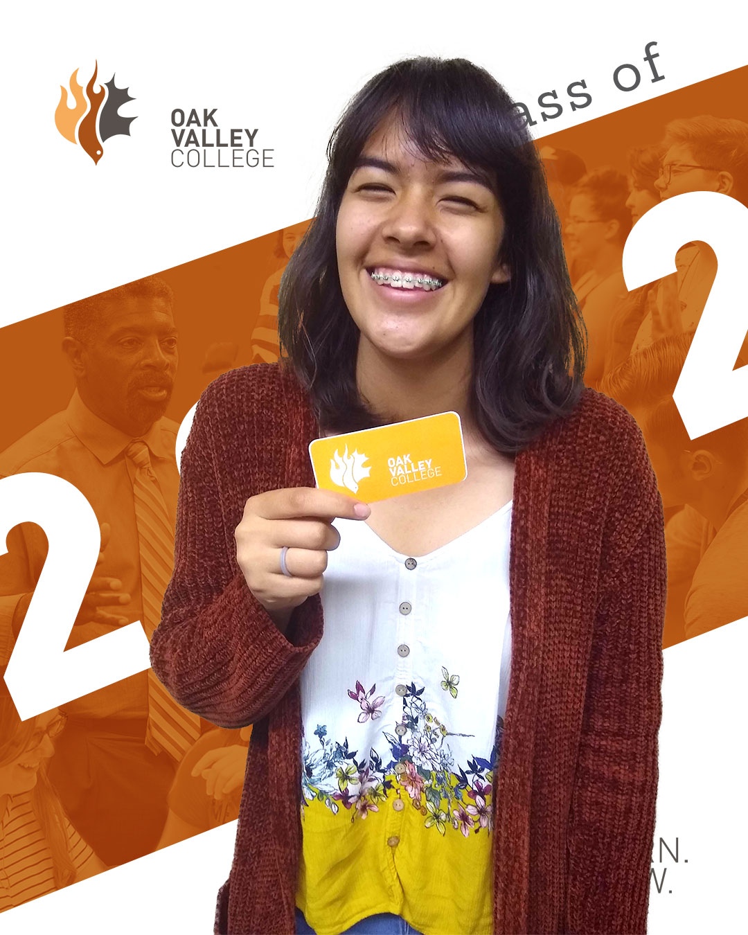 Crystal Arriaga is one of 32 students to enroll as a freshman for the fall of 2019.