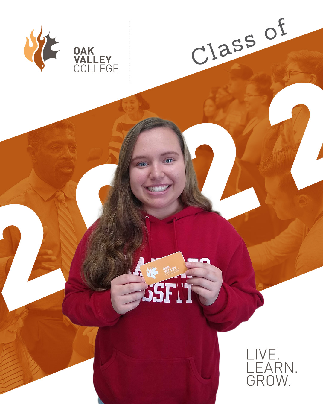 Elli is one of 32 students who enrolled as freshmen in the fall of 2019.