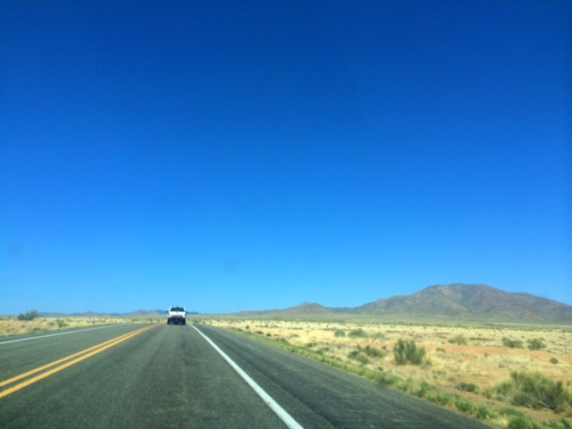 Drive to Silver City, New Mexico