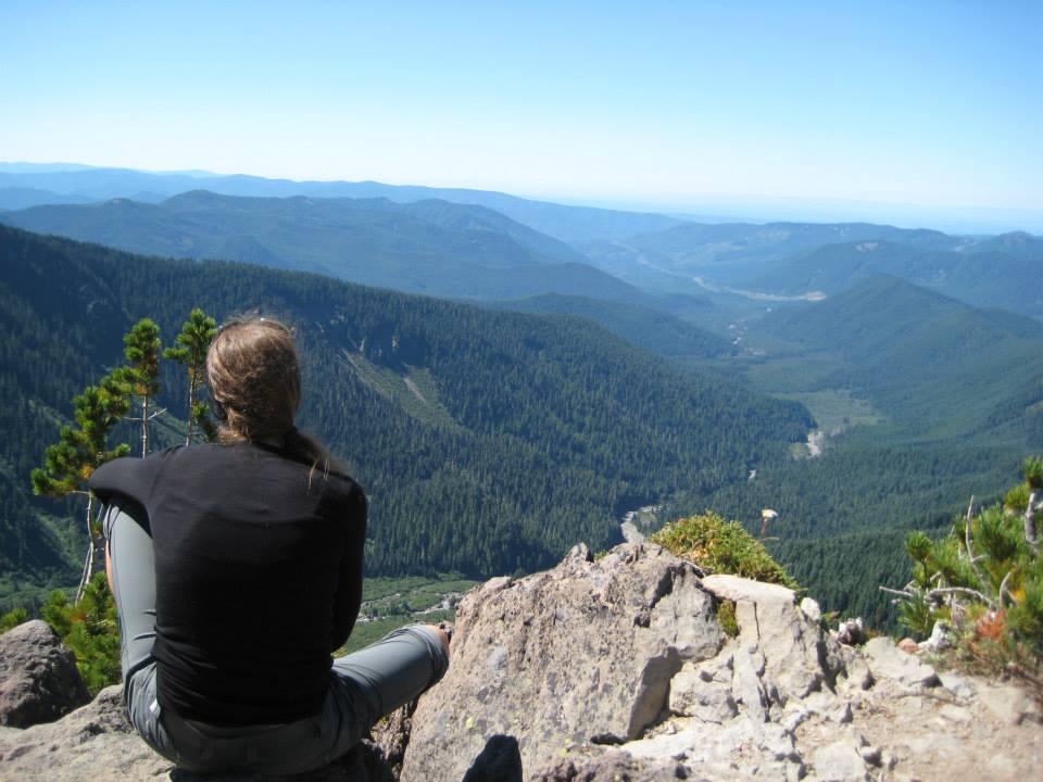 Mount Hood backpacking trip 2013