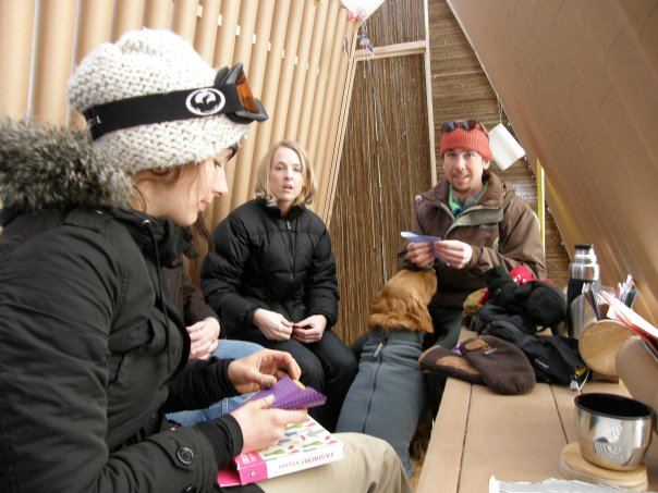 inside our Paper Shanty 2008, Minnesota