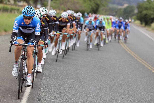 Jacob racing stage one of  Amgen Tour of California on May 13, 2012.  Photo  Source: Doug Pensinger/Getty Images North America