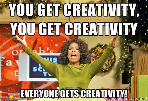 (Or maybe Oprah.)