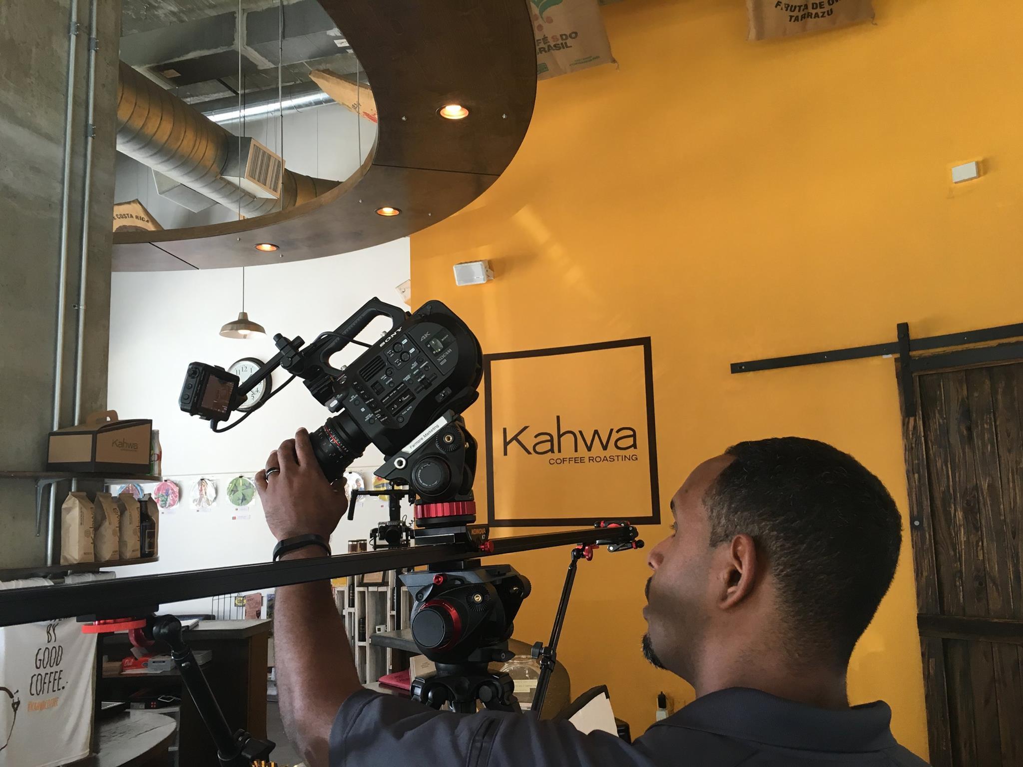 Kahwa Coffee Video Shoot