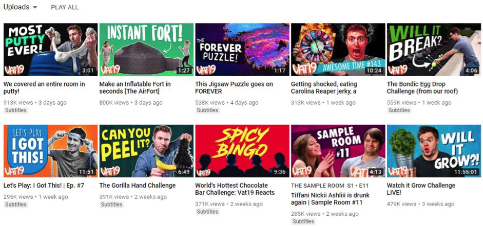 Vat19 youtube