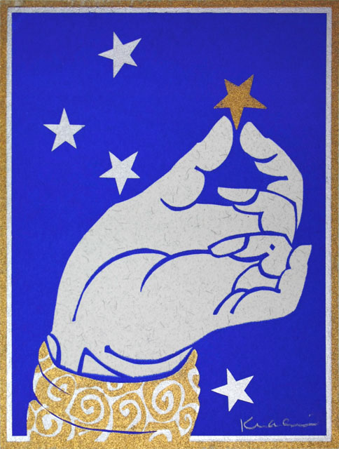 Hand and Star