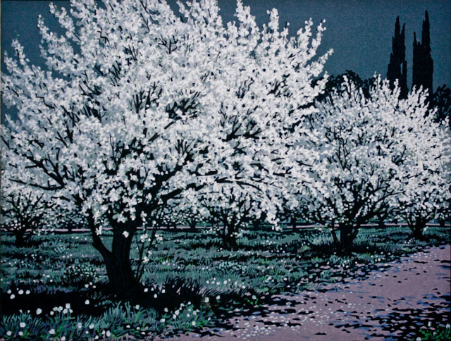 Orchard at Night - Chimayo