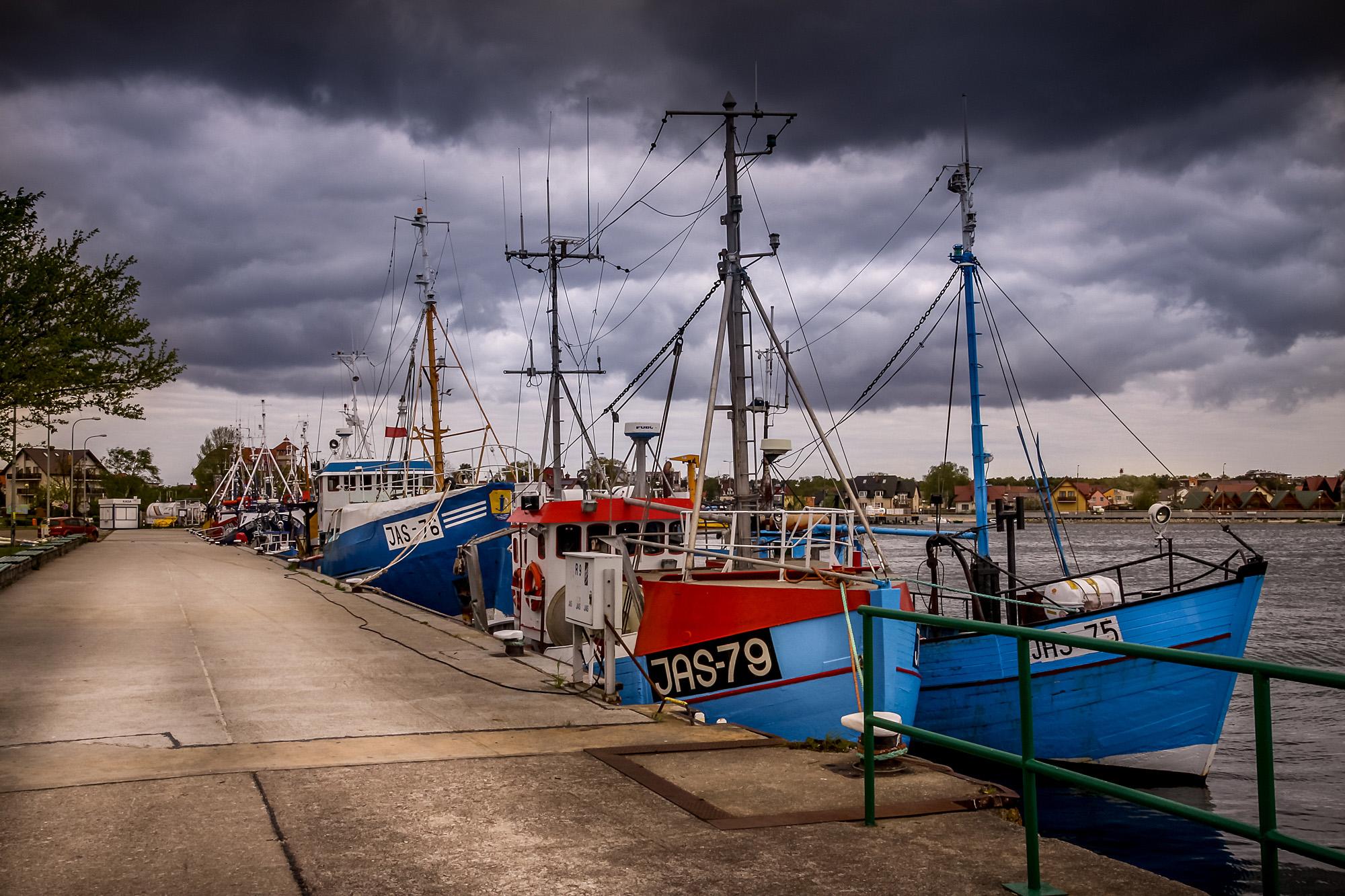 Jastarnia Harbour, POLAND