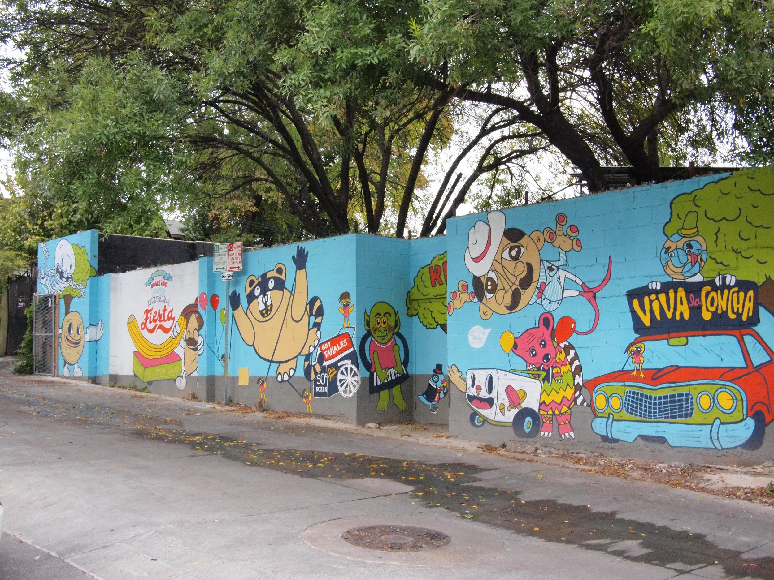 Puro Chingón Collective; Wonderful, Amazing, Stunning, Phenomenal, Fiesta; 2013 ; 96'w x 22'h