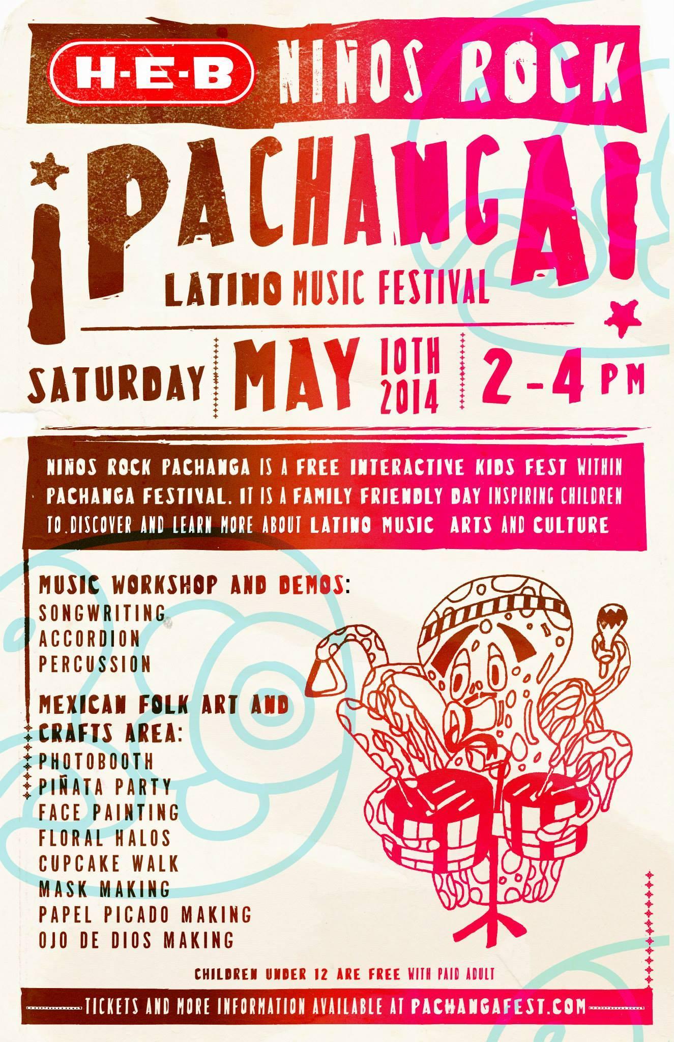 Pachanga Music Festival, 2014