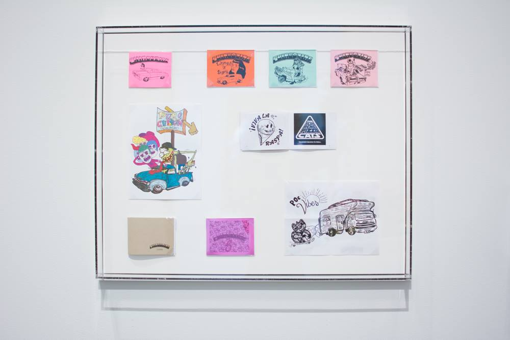All the Signs are (T)Here: Social Iconography in Mexican and Chicano Art from Collections at the University of Texas at Austin , Blanton Museum of Art, Austin, TX, April 30-August 9. (as part of Puro Chingón Collective)