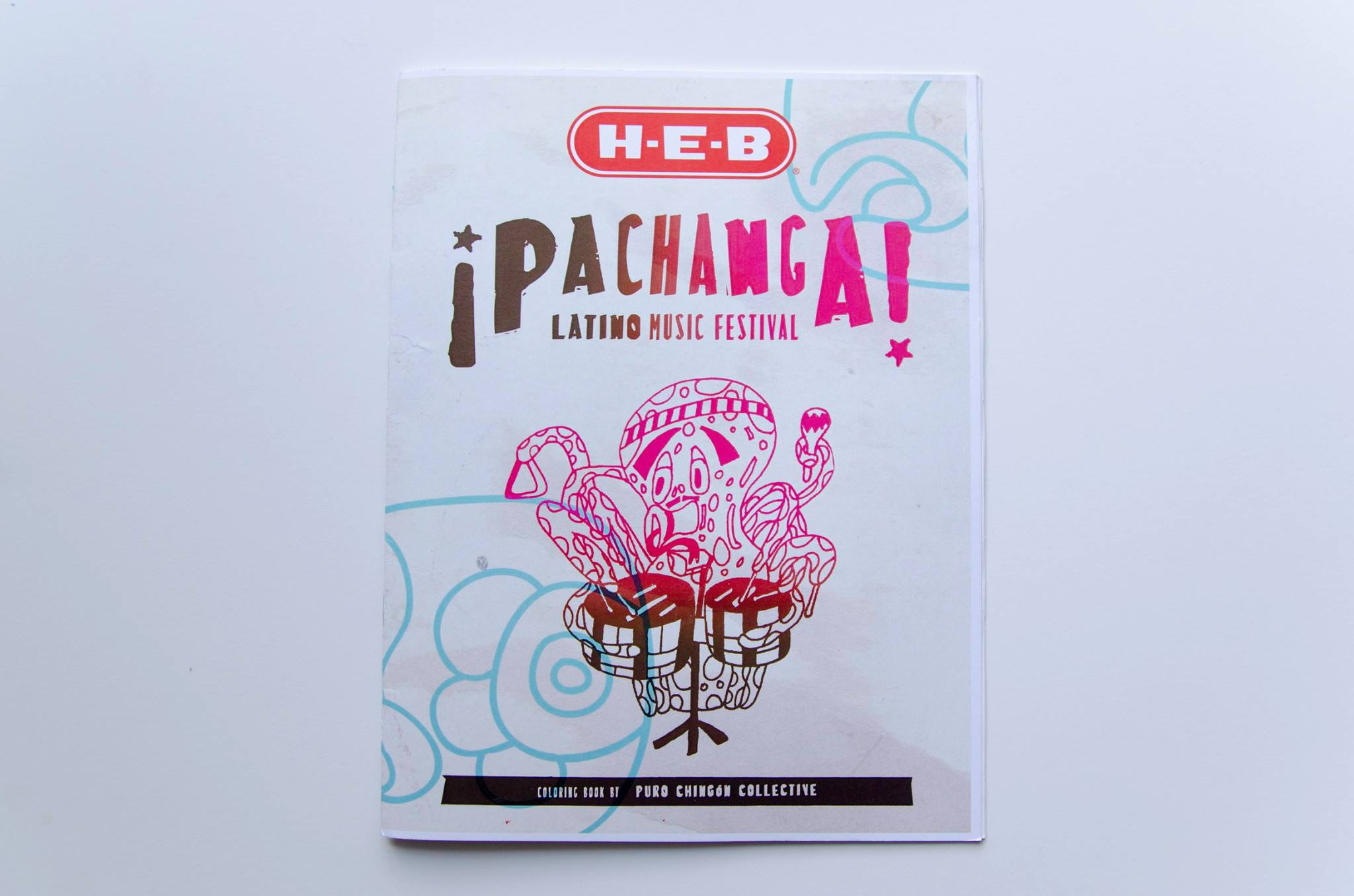Brand and Identity Designer, Pachanga Music Festival, Austin, TX, 2014. (as part of Puro Chingón Collective)